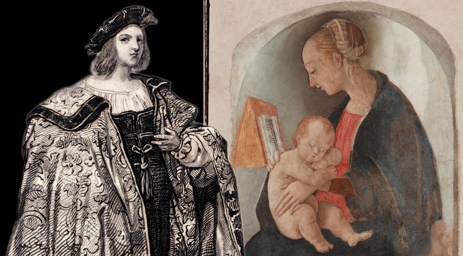 Decima puntata. L'affresco di Raffaello Sanzio nella Casa Natale di Urbino