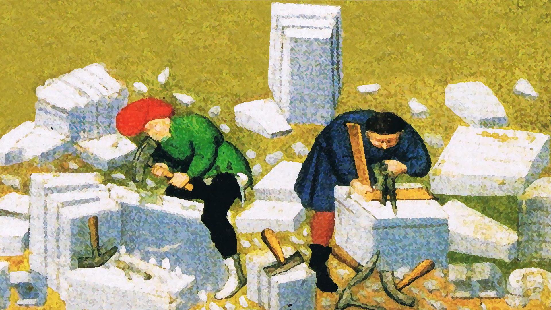 Diciottesima puntata. I tagliatori di pietra che costruivano i castelli