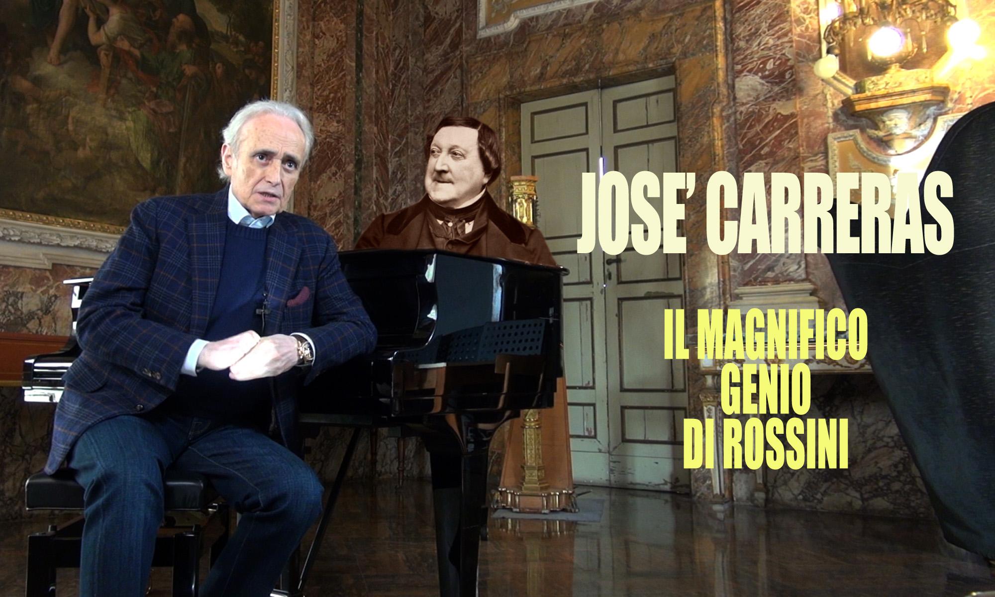 """Quarantanovesima puntata. José Carreras: """"Il magnifico genio di Rossini"""""""