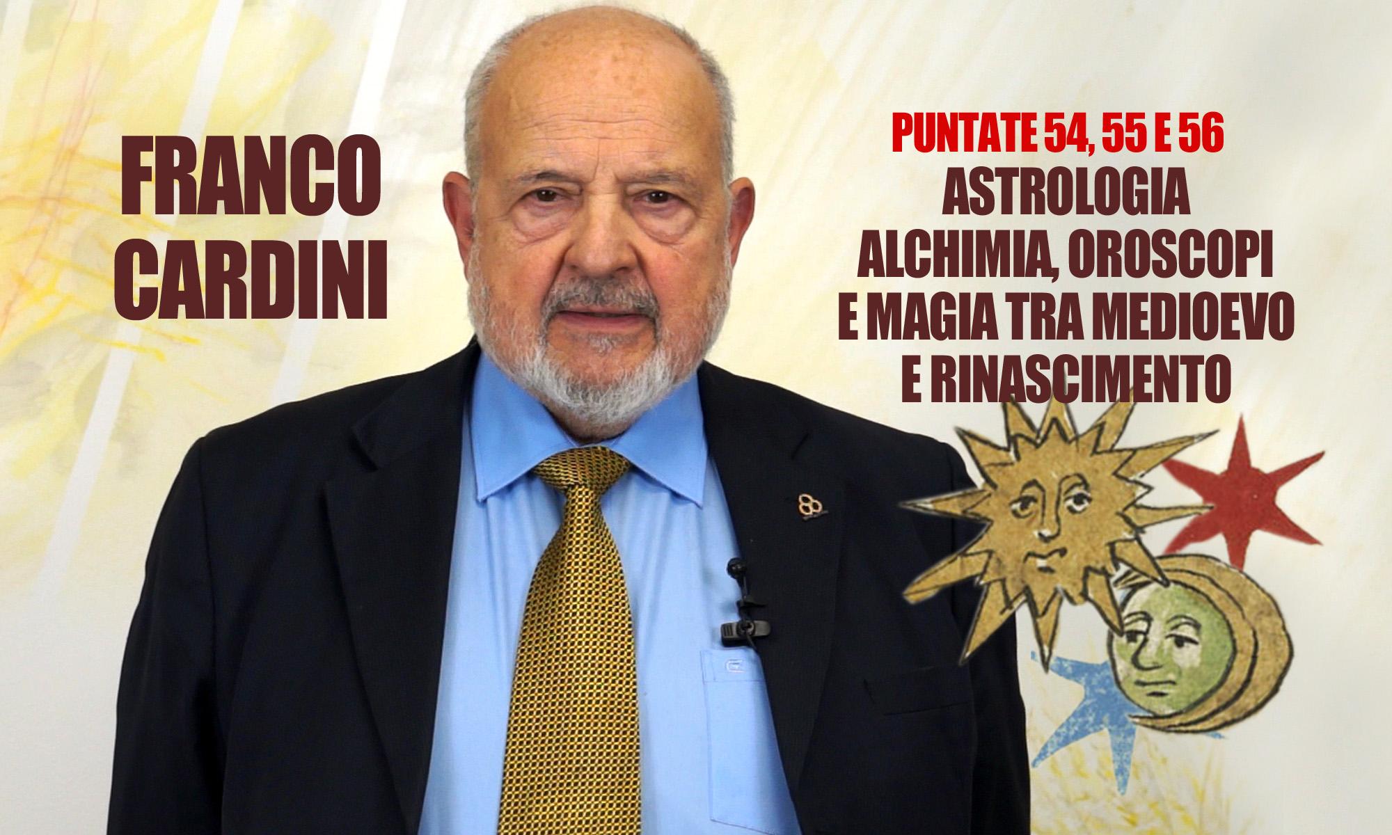 """Cinquantaseiesima puntata. Franco Cardini: """"L'Uomo e la magìa"""""""