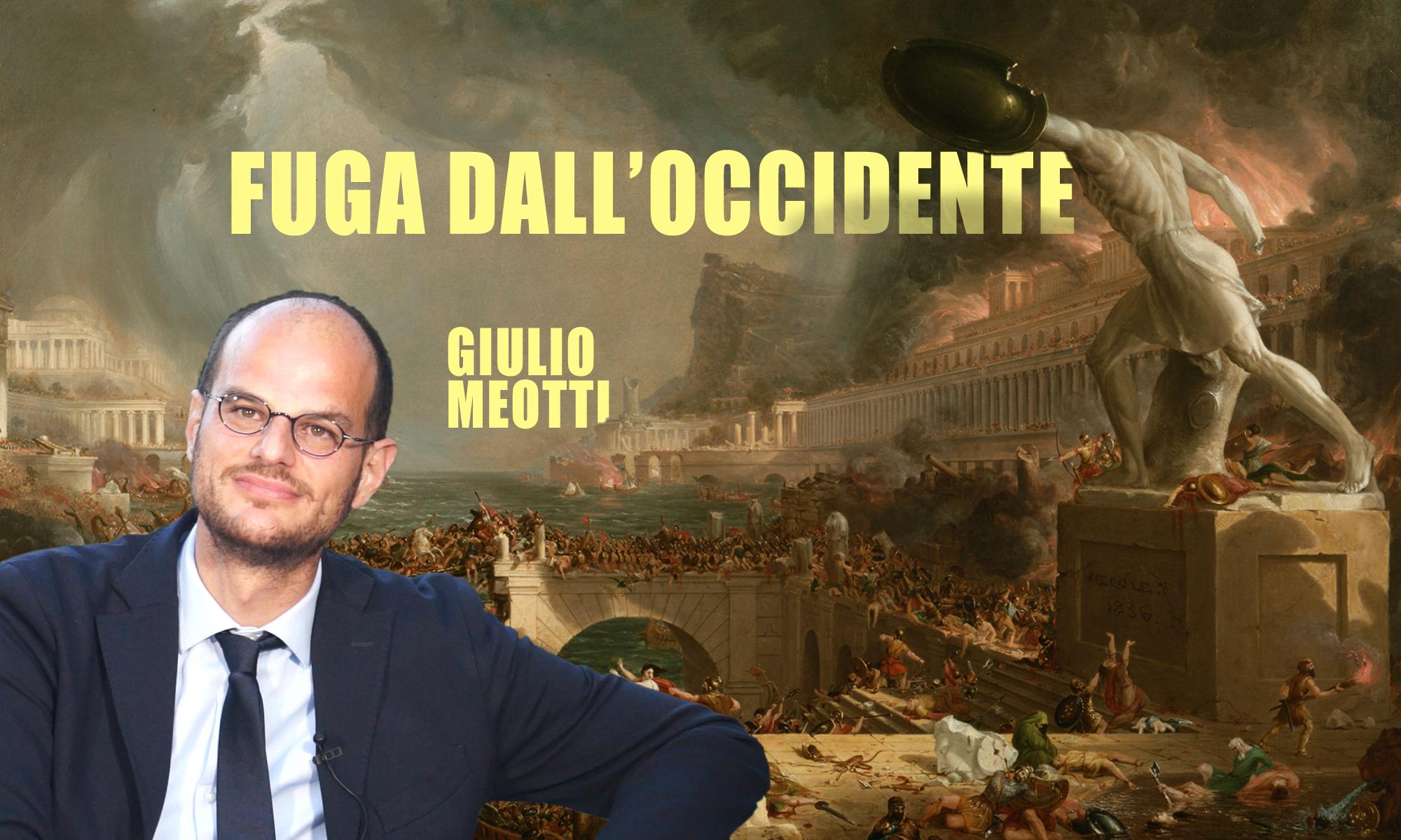 Giulio Meotti: «La fuga dall'occidente»