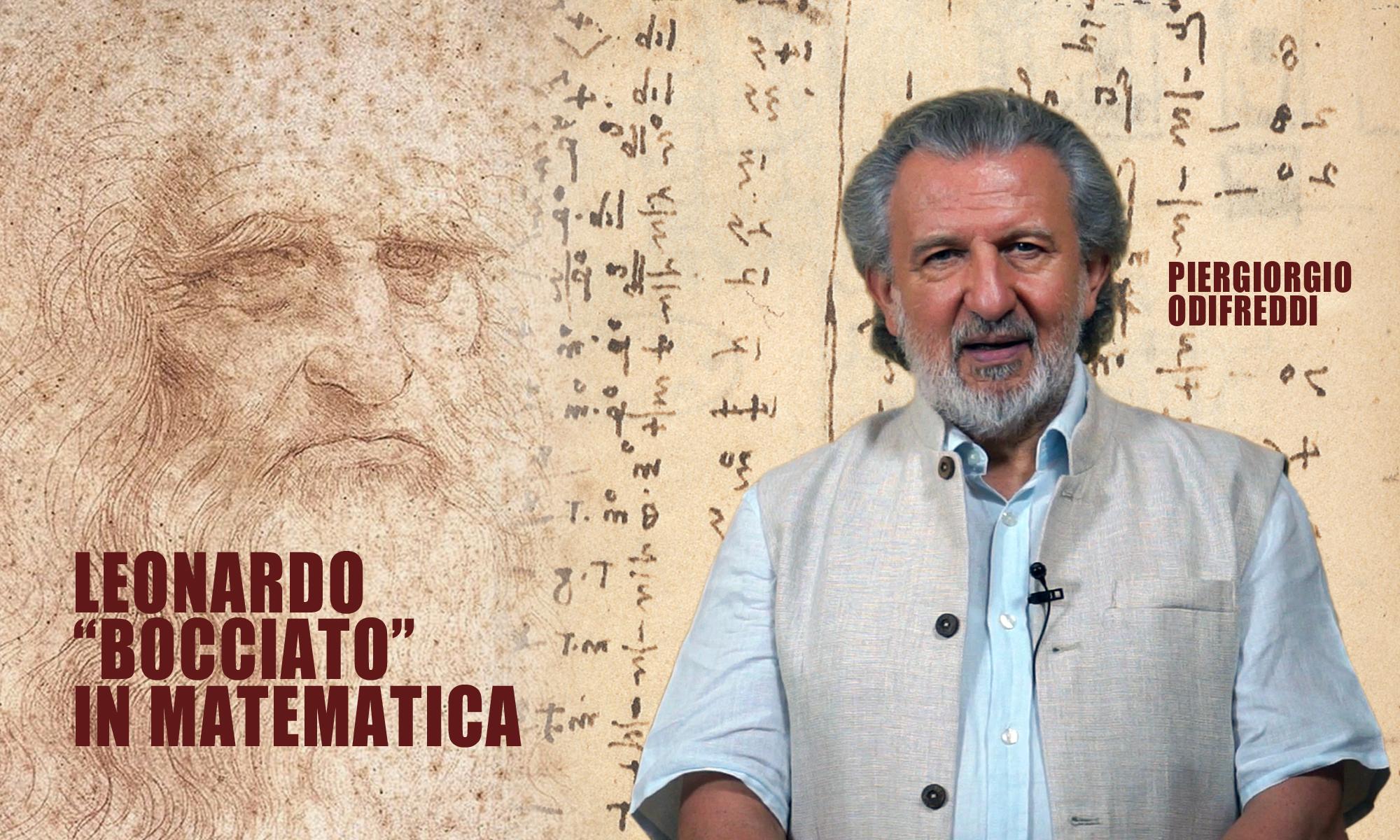 """Piergiorgio Odifreddi """"boccia"""" Leonardo in matematica"""
