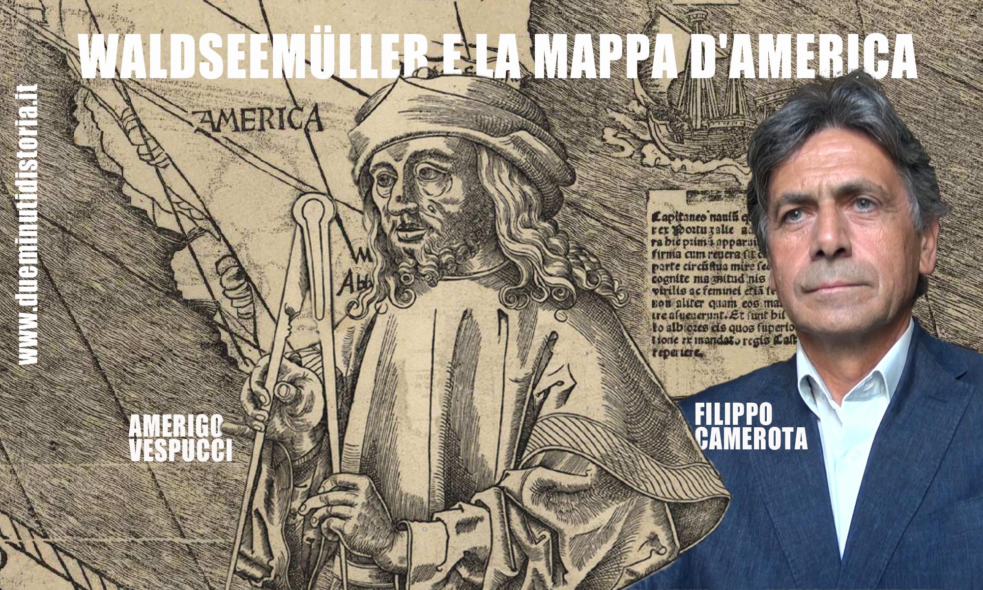 L'America conquista il suo nome con la Mappa di Waldseemüller