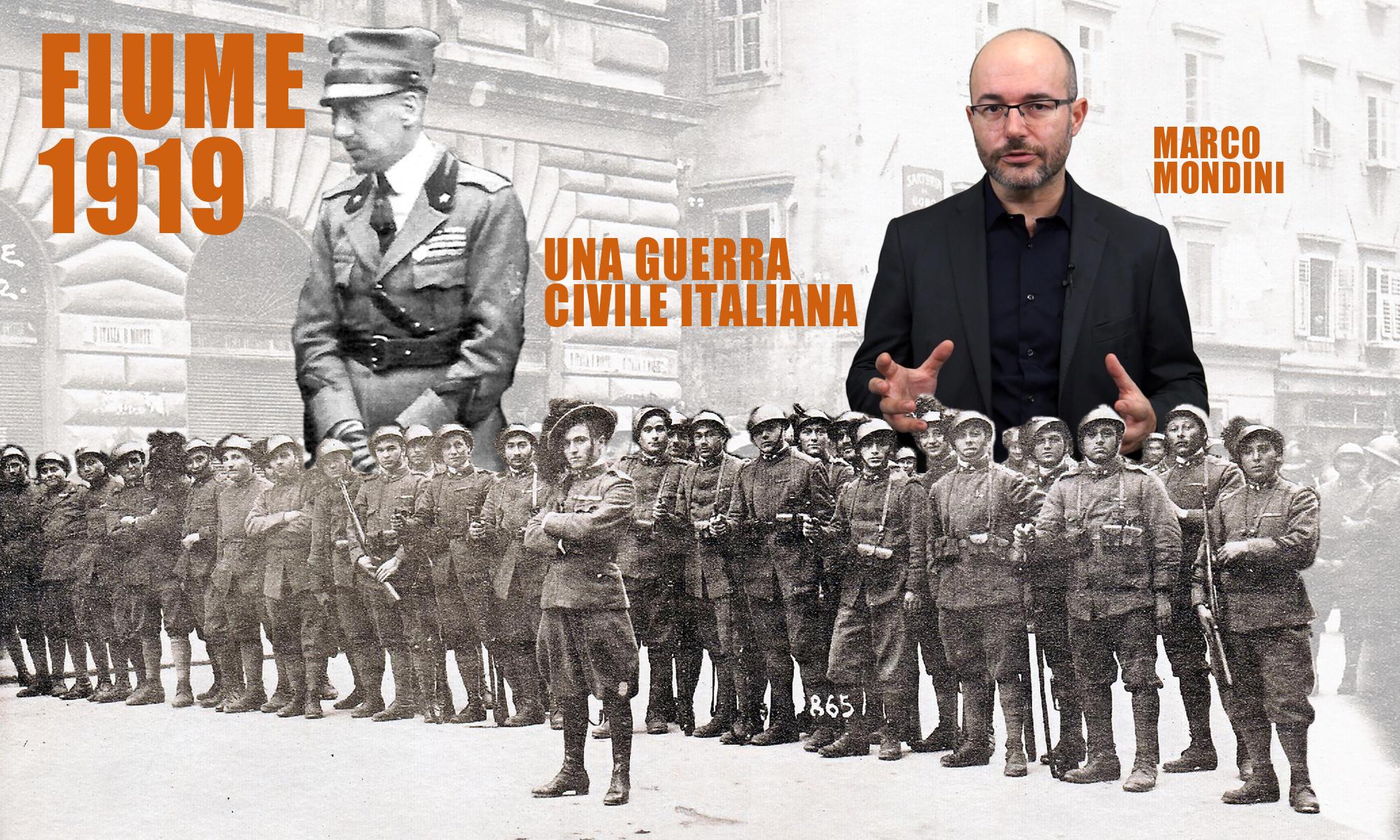 Fiume 1919, la guerra civile italiana