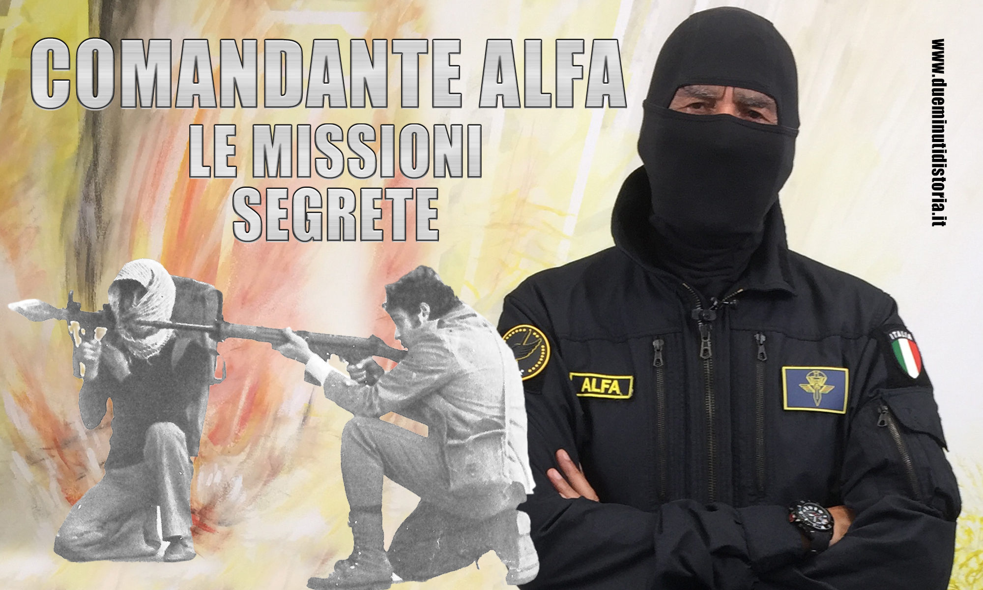 Comandante Alfa: le missioni segrete