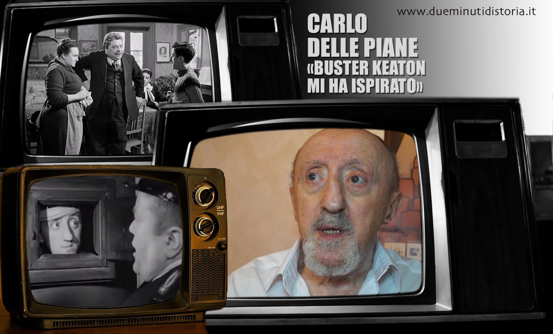 Carlo Delle Piane: «Buster Keaton mi ha ispirato»
