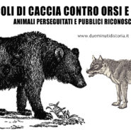 Caccia di orsi e lupi