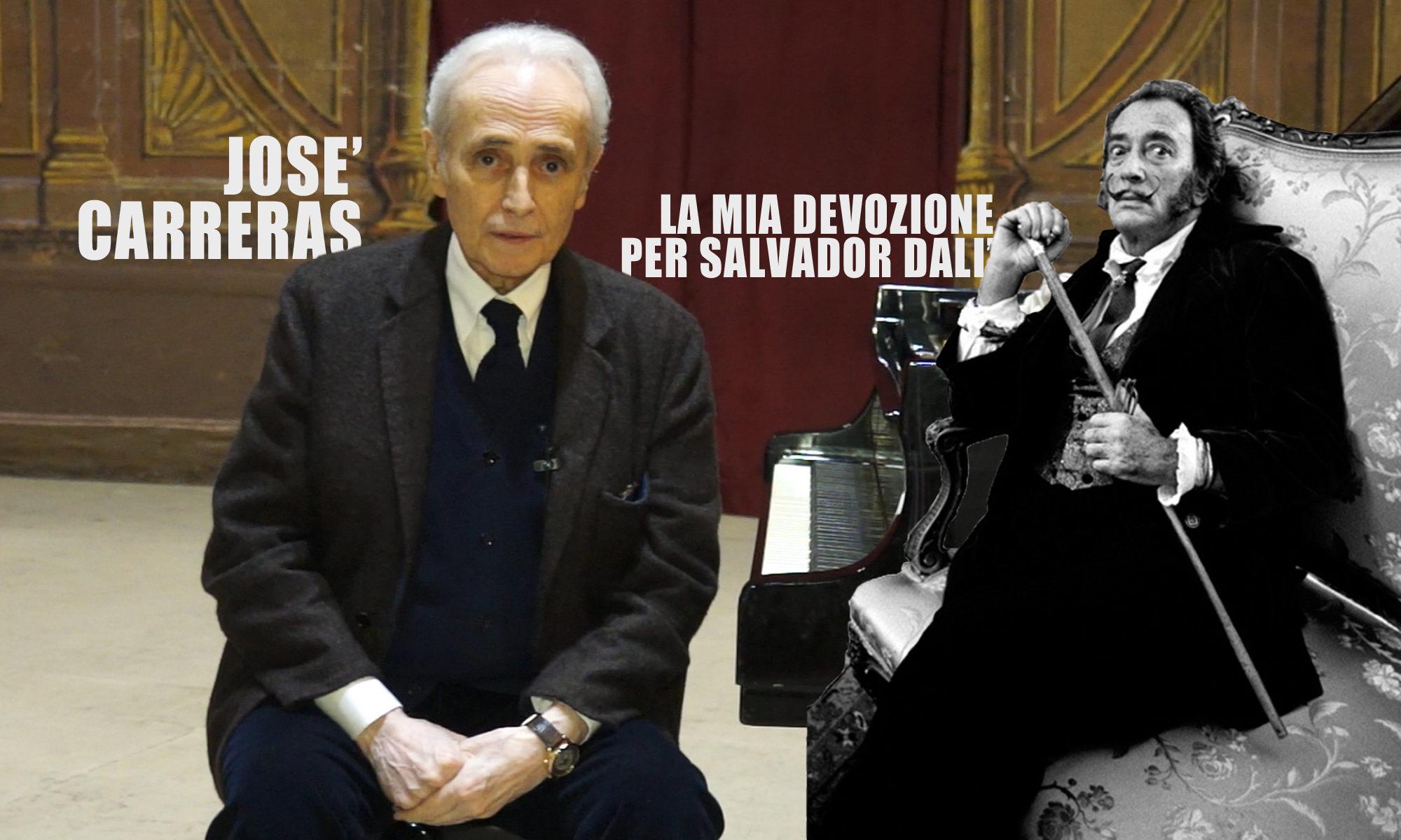 Centesima puntata. José Carreras: «La mia devozione per Salvador Dalì»