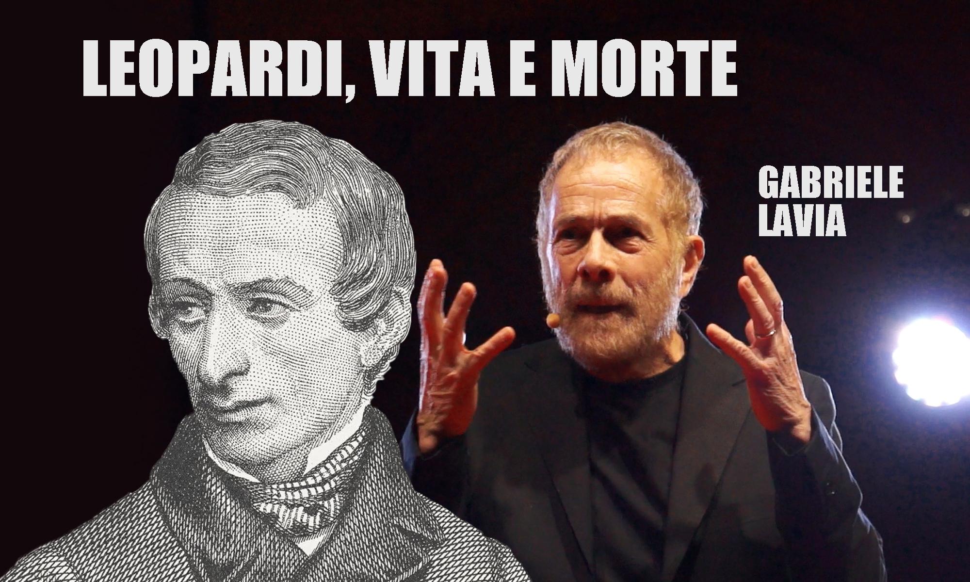 Giacomo Leopardi, la vita, la morte