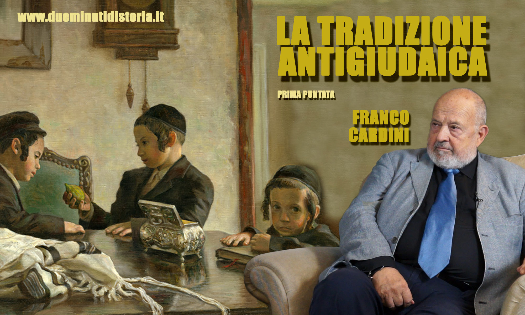 Franco Cardini: «La tradizione antigiudaica»