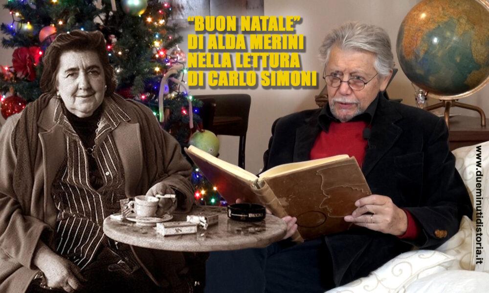 """""""Buon Natale"""" di Alda Merini nella lettura di Carlo Simoni"""